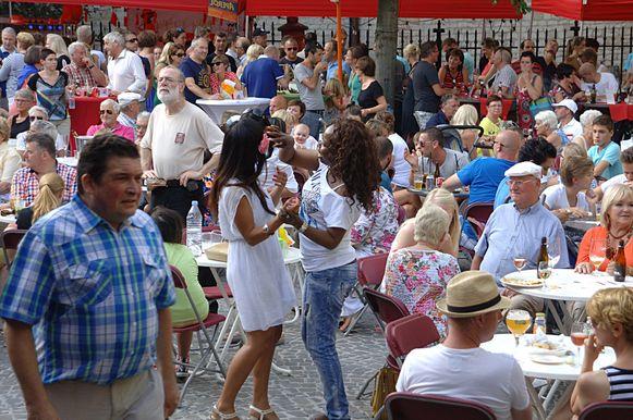 De zomermarkten staan altijd garant voor sfeer en gezelligheid.