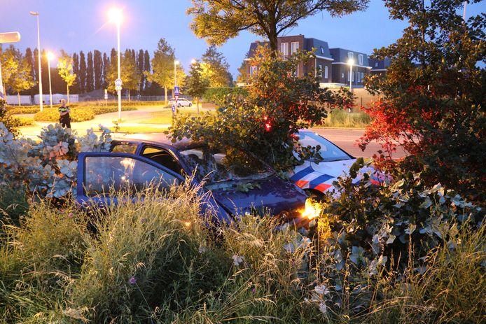 Een autokraker is na een achtervolging door Leidsche Rijn aangehouden.