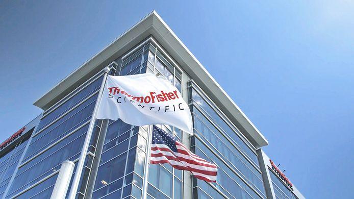 Het hoofdkantoor van Thermo Fisher Scientific in Waltham in de VS.