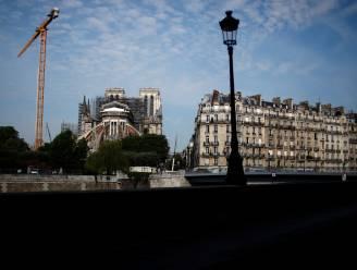 Bouwvakkers weer aan de slag bij Notre-Dame: eerst douches en kleedkamers aanpassen