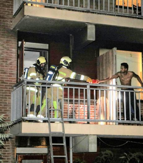 Brandje op balkon in flat Zeist
