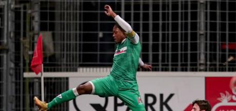 FC Dordrecht verliest 'kelderduel' bij MVV en besluit 2020 als hekkensluiter