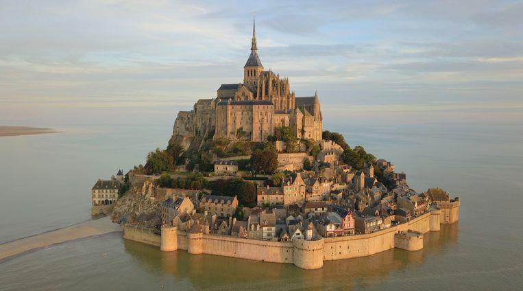 Mont Sain-Michel in Normandië.