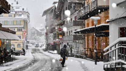Alpen bedolven onder eerste dikke sneeuwlaag