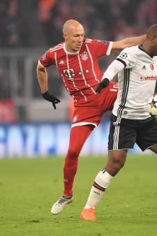 Bayern München walst over tiental Besiktas heen en is bijna kwartfinalist