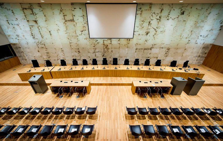 Vertegenwoordigers uit de rechterlijke macht, internationale instituties en de wetenschap zullen zich maandag buigen over de vraag of rechters tegenwoordig niet teveel politieke macht uitoefenen, waarmee de trias politica wordt verstoord. Beeld ANP