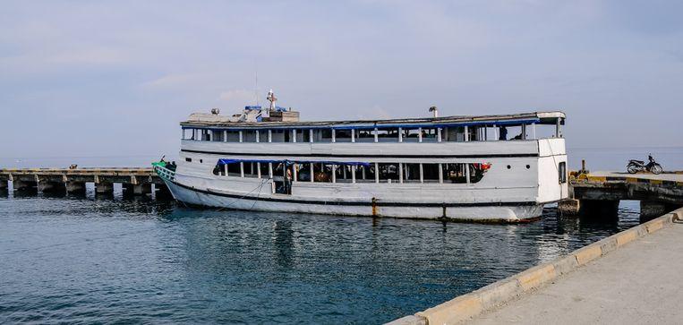 Beeld ter illustratie, ferry's zijn cruciaal in Indonesië om de verschillende eilanden met elkaar te verbinden.