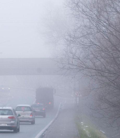 L'IRM lance un avertissement au brouillard et conditions glissantes en Wallonie