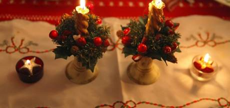 Kerststukkenverkoop voor Stichting Pola van der Donck