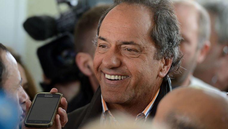 Daniel Scioli. Beeld AFP