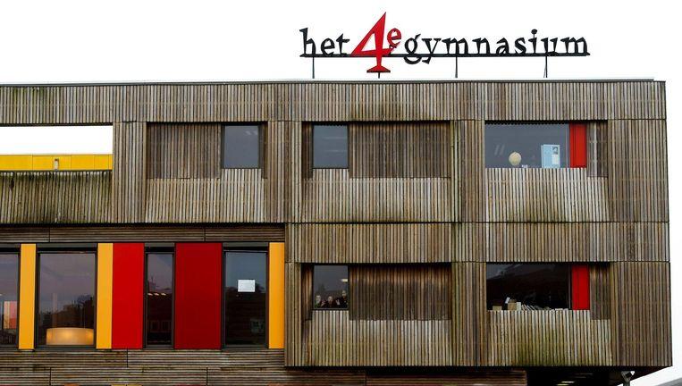 Het 4e Gymnasium aan de Stavangerweg in West. Beeld anp
