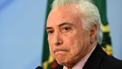Rechter beveelt vrijlating van Braziliaanse ex-president Michel Temer