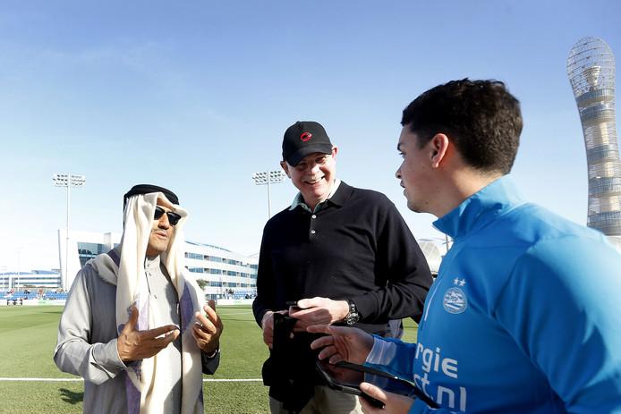 Toon Gerbrands heeft het naar zijn zin in Qatar.