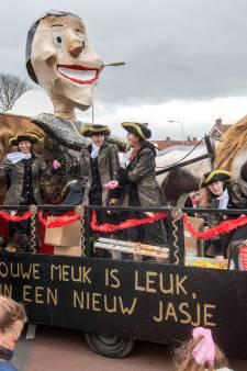 Grote carnavalsoptocht in Groesbeek toch afgelast, net als vele andere optochten in de regio