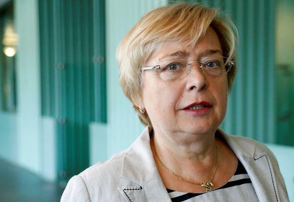 Malgorzata Gersdorf, de voorzitter van het Hooggerechtshof