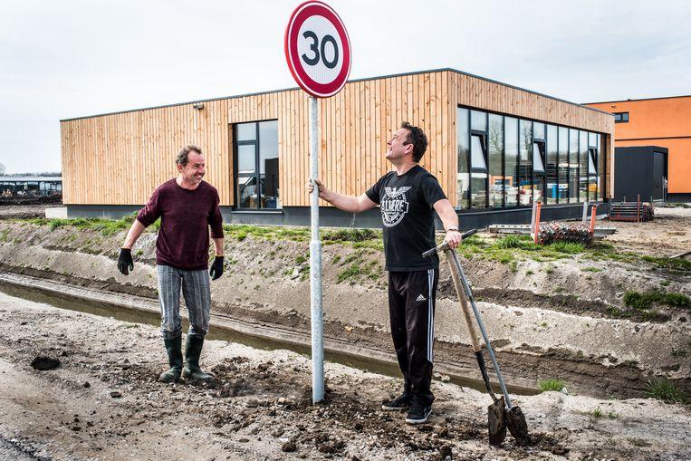 Nieuwbouwwijk Oosterwold in Flevoland. Beeld Simon Lenskens