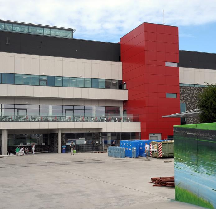 Na vijf jaar bouwen is een architectonisch hoogstandje ontstaan.