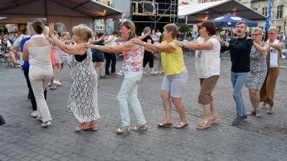 Grote Markt in polonaise-modus