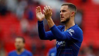 Stamford Bridge zwaait een smaakmaker uit: een laatste keer Eden Hazard op eigen veld in de Premier League