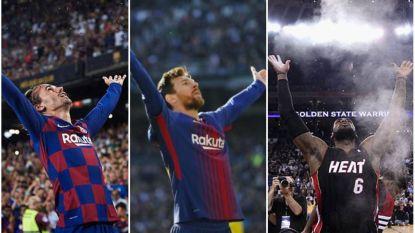 "Griezmann na geweldig thuisdebuut nu al nieuwe held van Camp Nou: ""Wou Messi en LeBron kopiëren"""