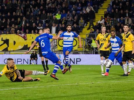 NAC geeft tegen beter PEC Zwolle onnodig de punten weg: 0-2