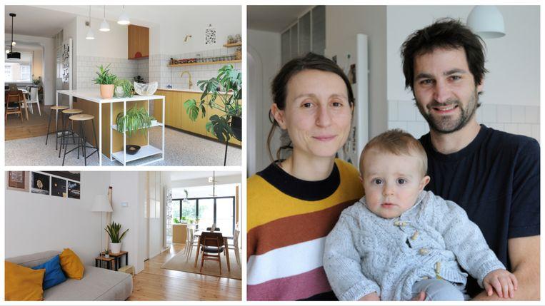 Manon en  François  hebben een 85 jaar oud huis in een nieuw jasje gestoken.