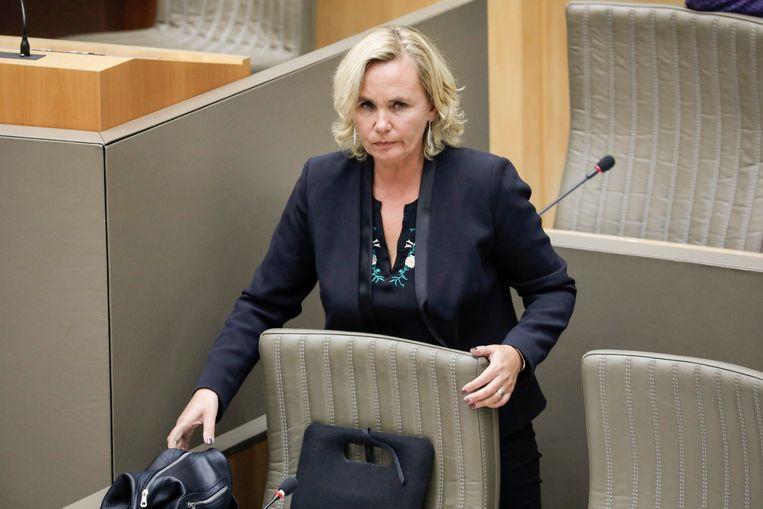 Minister van Armoedebestrijding Liesbeth Homans.