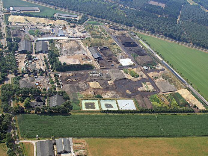 Het bedrijvencomplex van Reiling.