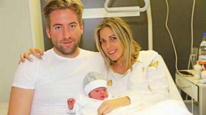 Kerstkindje Leon Luiz is eerste spruit van Sofie en Cédric