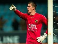 NAC-doelman Jorn Brondeel voor vier naar FC Twente