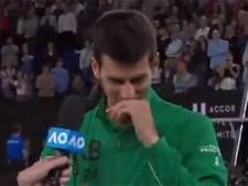 "Djokovic en pleurs: ""Kobe Bryant était mon ami, mon coeur s'est brisé"""