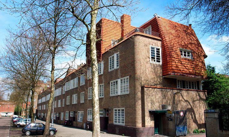 Sociale huurwoningen in de Amsterdamse wijk De Pijp. Beeld ANP, Juan Vrijdag