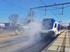 Nog meer pech voor reizigers: uur lang geen treinen tussen Tilburg en Boxtel door brand