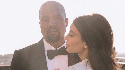 """Kim Kardashian en Kanye West vieren huwelijksverjaardag ondanks controverse: """"Ik heb zo veel geluk gehad met jou"""""""