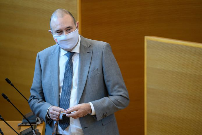 Christophe Collignon, le ministre wallon des Affaires intérieures