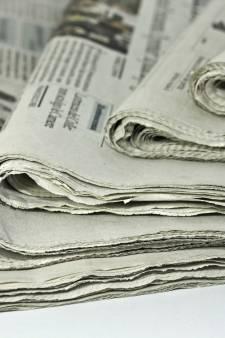 Bestelbus krantenbezorger gestolen in Zeeland