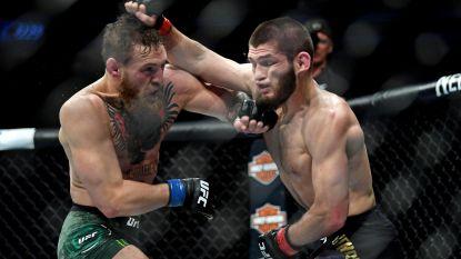 McGregor en Khabib hebben het nog maar eens met elkaar aan de stok