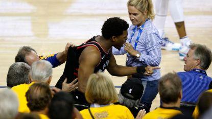 NBA niet mals voor eigenaar Golden State na duw aan Lowry: schorsing en boete van 500.000 dollar