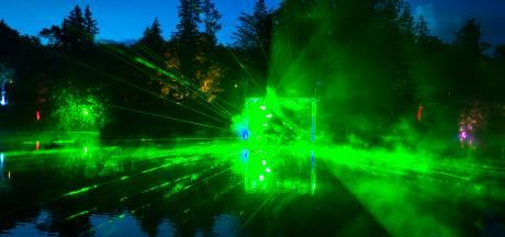 Vandalen trekken lampen Lumido uit de grond in park Berg en Bos