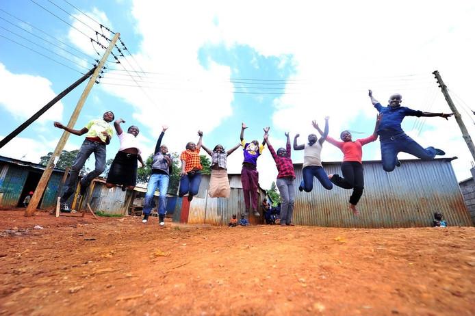 Good News Centre Kenya steunt al dertig jaar onderwijs in sloppenwijk Nairobi.
