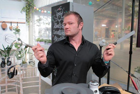Boris Van Dorpe is vanavond te zien in Bake Off Vlaanderen.