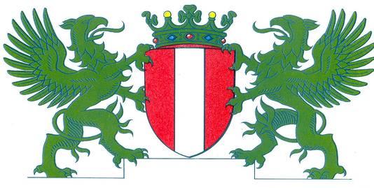 Het stadswapen van Dordrecht.
