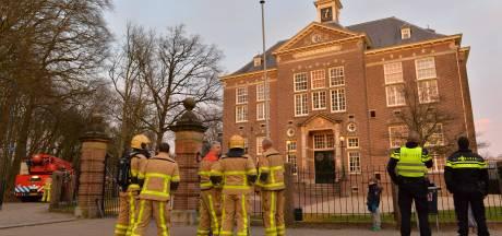 Ondergaande zon zet Gymnasium Apeldoorn 'in brand'