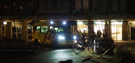 Gewonde bij steekpartij in winkelcentrum Nieuwland, verdachte aangehouden