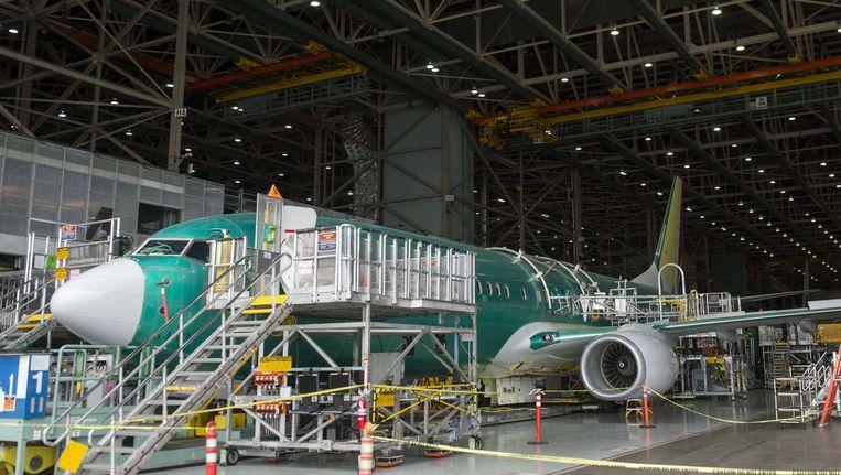 Een boeing 737. 'Het bedrijf Boeing beslist niet of Saoedi-Arabië wapens mag ontvangen, maar de Amerikaanse overheid' Beeld ANP