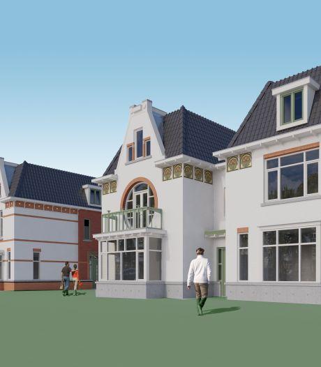 Witte villa's moeten omgeving bij hefbrug in Waddinxveen opleuken