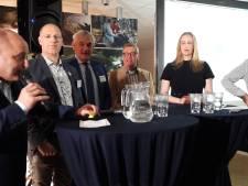 Drie jonge vrouwen en één man op eigen kracht in de raad van Oisterwijk
