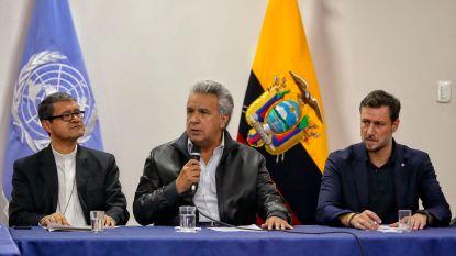 President Ecuador sluit akkoord met inheemse leiders, protesten beëindigd