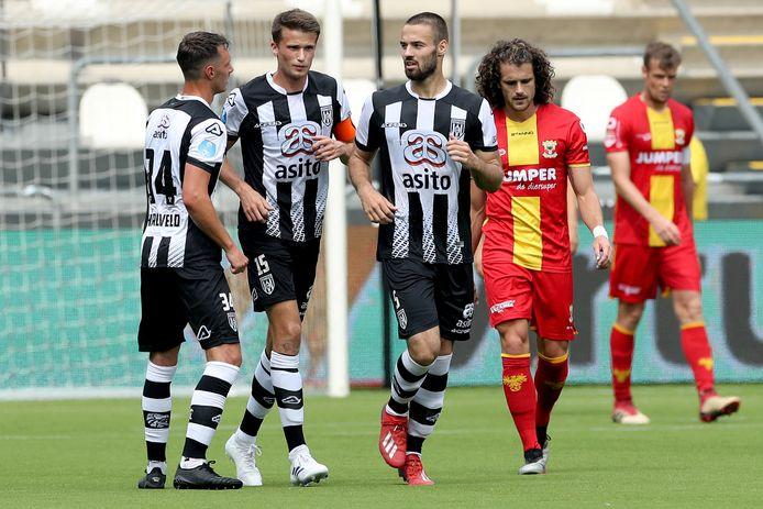 Heracles oefende in de voorbereiding ook tegen Go Ahead Eagles.