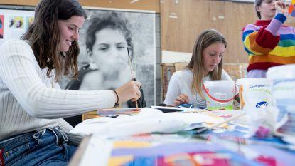 Leerlingen leven zich creatief uit tijdens eerste 'ArtyParty'